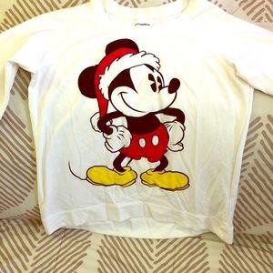 Mickey Mouse sweatshirt white medium